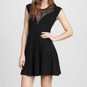 French Connection Alicia Lace-Panel Dress 2 - 4